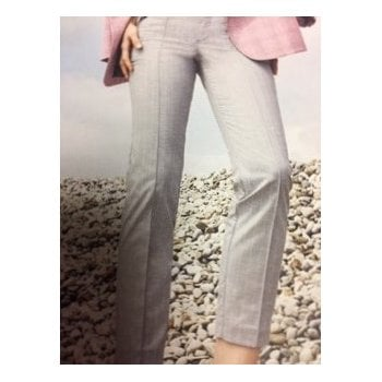 Mac Anna Zip Grey and Pink Striped 5293 / 0178 / 042S