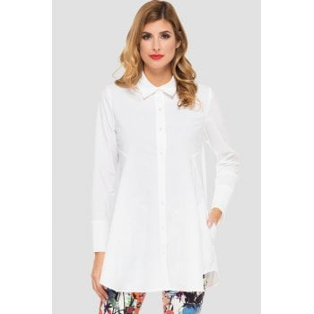 Joseph Ribkoff Off White Long Shirt 191434