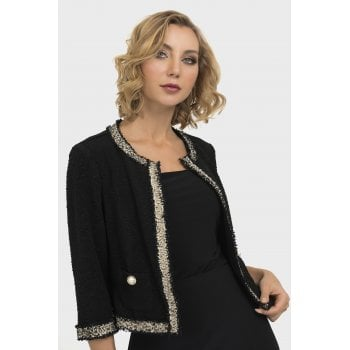 Joseph Ribkoff Black Short Jacket - 193445