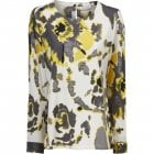 Masai Bebbe Yellow Multiprint Top