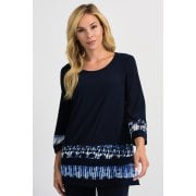 Joseph Ribkoff Navy Top 201458
