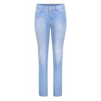 Mac Dream Straight Leg Bleached Blue Jeans 5401 / 0355L / D491