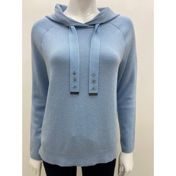 Monari Pale Blue Jumper 406082