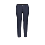 MAC Anna Zip New Trouser in Navy 5293/0128L/090