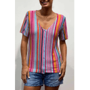 Leo & Ugo Multicoloured Top - AE573
