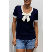 Leo & Ugo Navy Top - BE523