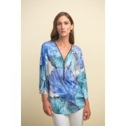 Joseph Ribkoff Blue Top - 211335