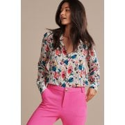 POM Amsterdam - White Blouse with Print - SP6491